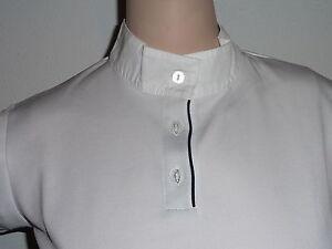 Reitshirt  Shirt Damenshirt  Damenreitshirt Turniershirt HKM weiß XL