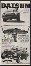 1967 DATSUN SPL-311 Convertible Sports Car & Race Car VINTAGE AD