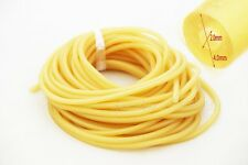 Length 10M Amber OD 4mm W 1mm  ID 2mm  Rubber Latex Tubing 2040  Rubber Tube