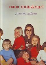 nana mouskouri - album 33 tours - pour les enfants