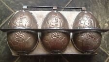 RARE COLLECTORS VINTAGE FACTORY ROWNTREE EASTER EGG CHOCOLATE MOULD MOLD