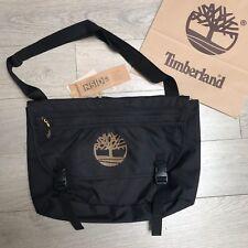 Men S TIMBERLAND messenger bag black borsa per Laptop Lavoro causale 100%  autentico NUOVO CON ETICHETTA 207c5c80fee