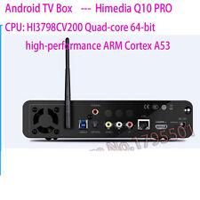 HiMedia Q10 PRO Android UHD Media Player Quad-Core 4K TV BOX HEVC H.265+Remote
