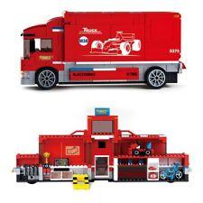 557pcs F1 Formula Team Truck Car Racing Ferrari City Legoing Bricks Toy Kid DIY