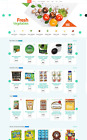 Grocery / Organic Food Store eCommerce / Drop-shipping / Multi vendor Affiliate