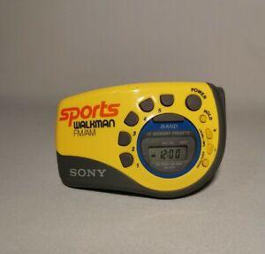 Rare! Vintage Sony Walkman Sports Portable Radio - SRF-M78 - Fully Operational