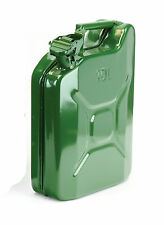 SMALL JERRY CAN 10 LITRE FUEL STORAGE CAN PETROL / DIESEL CAN HEAVY DUTY METAL