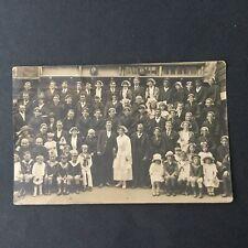 Carte Photo Ancienne Costume Mariage Breton Bretagne Coiffe CPA PC