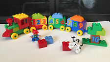 Complete LEGO Duplo Number TRAIN #10558 Learning to COUNT Dog Bricks Box