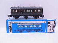 LOT 42575   Schöner Märklin H0 4004 Abteilwagen 2. Klasse grün in OVP