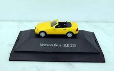 Herpa 1:87 Mercedes-Benz SLK 230 Cabrio, gelb, Händler Edition
