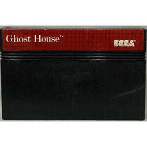 GHOST HOUSE SEGA MASTER SYSTEM GAME