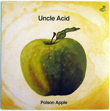 "Uncle Acid - Poison Apple - Yellow Vinyl - 2013 - Picture Sleeve -7"" Single -NEW"