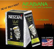 Nescafe Arabiana Arabic Coffee with cardamom 20 sticks -12 boxes - Priority Mail