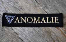 ANOMALIE Patch Aufnäher - new & official Merchandise - Post Black Metal Austria