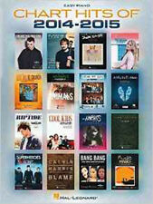 Chart Hits Of 2014-2015 (Easy Piano) (Chart Hits of (Year)), New, Various Book