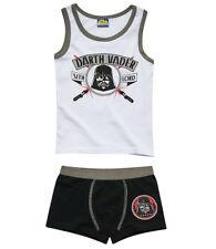 NUEVO ropa interior 2 Piezas Set Muda Niños Camisa Slip Star Wars 116 128 140
