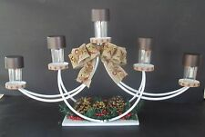 Festive Centerpiece Five LED Solar-Powered Lights For In/Outdoor Use
