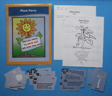 Evan Moor Science Center Learning Resource Game Plant Parts