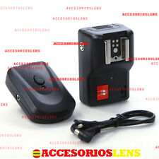 Trigger wireless flash radio Speedlite Nikon,Canon,Pentax,Olympus,Sony,Minolta