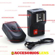 Trigger wireless flash radio Speedlite Nikon,Canon,Pentax,Olympus,Sony,Minolta