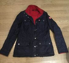 Barbour Women's Dk. Blue Quilted Jacket USA Small