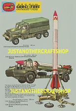 Corgi Toys Rocket Age A3 Poster 1112 1113 1118 1124 Leaflet Display Sign Advert