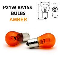 P21W BA15s 382 AMBER ORANGE Indicator Turn Car Light Bulbs 12V - Opposite Pins