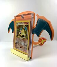 Pokemon Card Stand CHARIZARD W/Tail PSA 3D Printed Trading TCG Holder Display