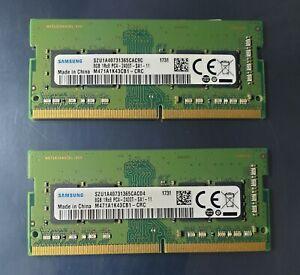 Samsung 16GB 2X8GB M471A1K43CB1-CRC DDR4 1Rx8 PC4-2400T SODIM Laptop Memory Ram