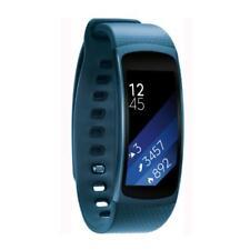 Samsung Gear Fit 2 Smartwatch (Pulssensor und Benachrichtigungen) blau (L)