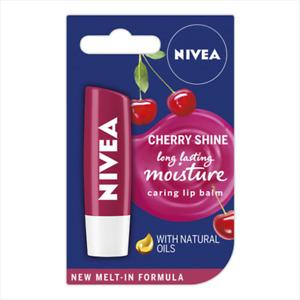 Nivea Fruity Shine Lip Balm in Cherry 5g