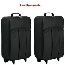 2 STÜCK Leichter Kabinen Trolley Koffer 2 Ro faltbar Handgepäck Ryanair EasyJet