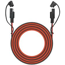 25 Foot SAE to SAE 2 Pin Quick Disconnect Harness,DC 12V Power Connector Plug...