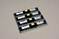HP 398708-061 RAM 4x 4GB PC2-5300F 555 ECC MAC Pro 1.1 3.1
