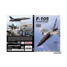 Airutopia F-105 THUNDERCHIEF Military Aircraft Aviation DVD Video-Brand New