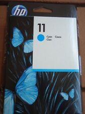 HP 11 Cyan Ink Cartridge C4836A Designjet Exp. 8/2014