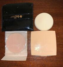 New listing Vintage Lancôme Double Finish Foundation Powder Compact Brise 04+Refill Case