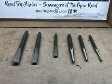 MAC TOOLS 5 PIECE CHISEL SET 3/8, 7/16, 1/2, 5/8,