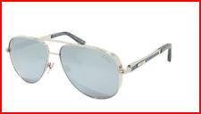 ZILLI Sunglasses Titanium Acetate Leather Polarized France Handmade ZI 65028 C06