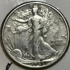 1943 Walking Liberty Silver Half Dollar VG+ (Will combine shipping)