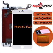 """Display LCD für iPhone 6S Plus 5.5""""  RETINA Glas Scheibe 3D Bildschirm WEISS NEU"""