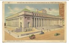 Vintage NEW York City Post Office Postcard New York City Post Office