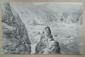 Old Postcard View From Devils Hole Jersey Filmac Series Unposted.