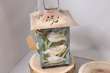 """Decorative Concepts Friends are the Birdsong Square Lantern - 9"""" Tall"""