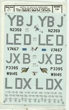 Microscale Superscale Decals 32-007 Hurricane Mk.I decals in 1:32 Scale