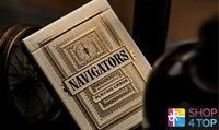 NAVIGATORS THEORY 11 PREMIUM PLAYING CARDS DECK MAGIC TRICKS GOLD SEALED NEW