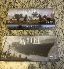 Scythe board game, Invaders From Afar & The wind Gambit, Two Games