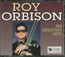 ROY ORBISON HIS GREATEST HITS - 3 CD - 50 TRACKS + BOOKLET - RARE