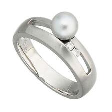 Unbehandelter natürlicher echter Perlen-Ringe